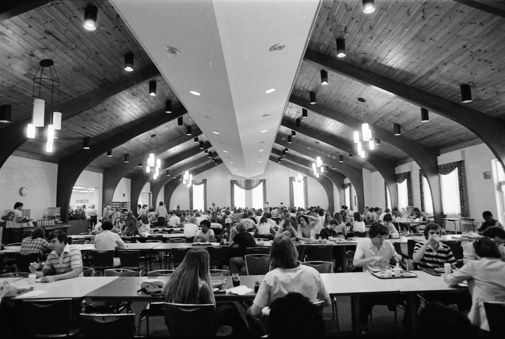 sala mensa 1970