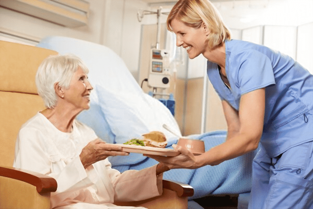 Ristorazione sanitaria per degenti allettati